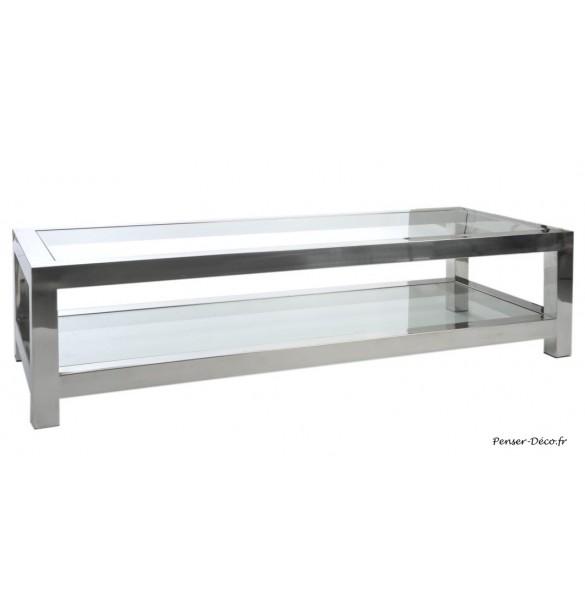 Table salon rectangulaire